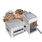 Kitchen barbecue indoor outdoor infrared gas/electric beef grill