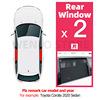 Rear side windows