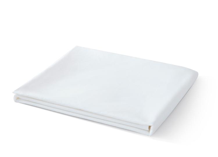 280cm width 200TC plain white cotton percale fabrics for bedsheets