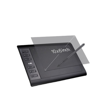 8192 levels pressure wireless professional creative digital pen tablet graphic pc drawing tablet
