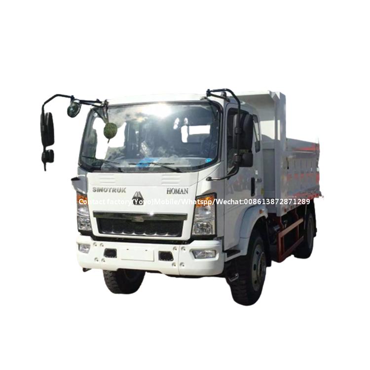 Howo dump truck body price 6 ton dump truck for sale