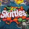 rainbow sugar skittles