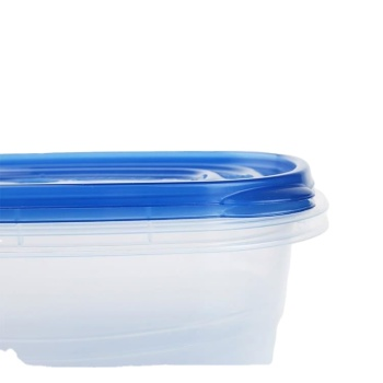 Clear plastic box stackable food containerbox for storage