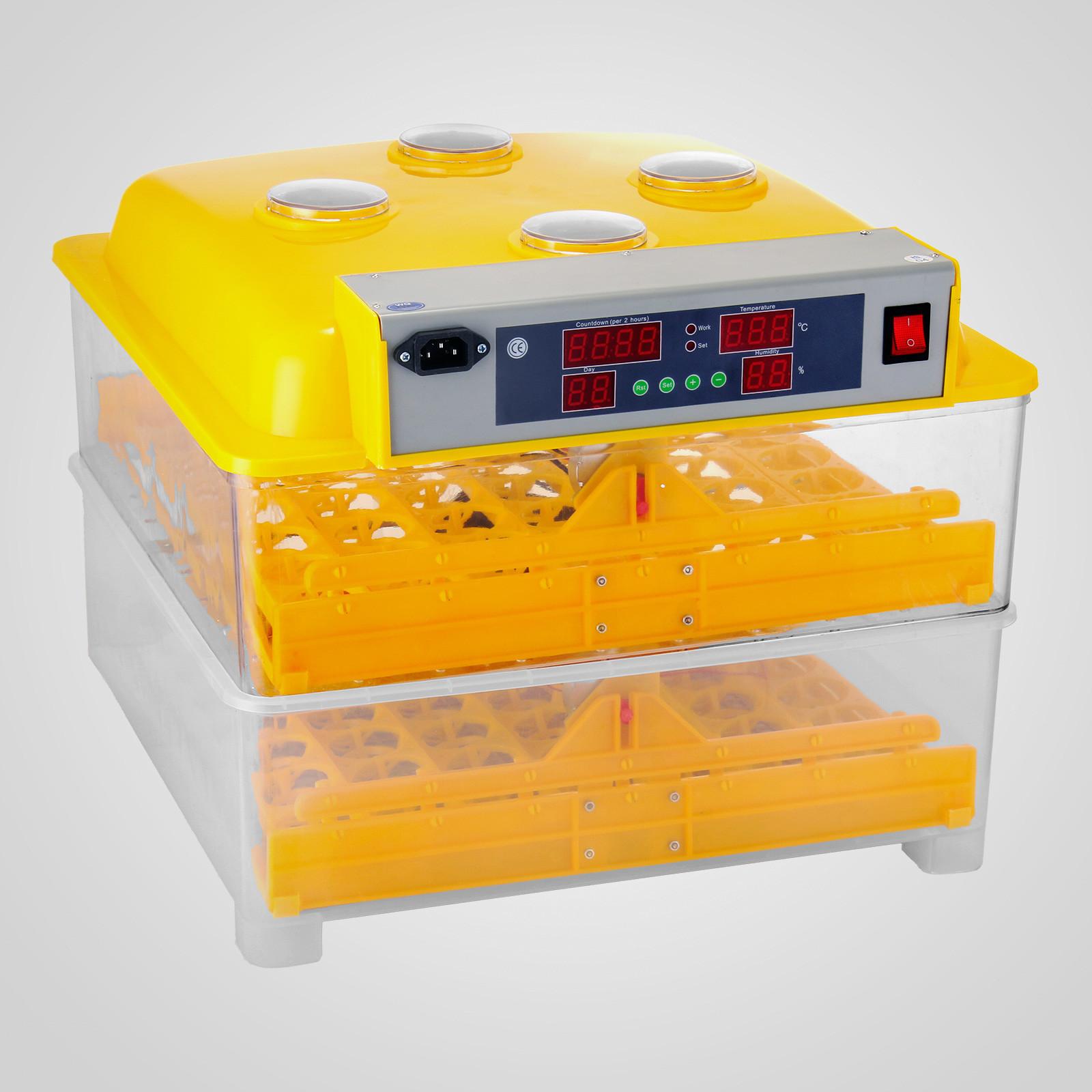 mini automatic egg turning alarm chicken egg incubator machine