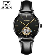 JSDUN автоматические женские часы, сапфировые часы, турбийон, механические наручные часы для женщин(Китай)