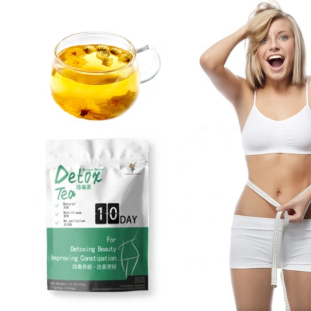 Private Label OEM 14Days Fat Burner Herbal Tea Slimming Tea Detox Tea - 4uTea | 4uTea.com