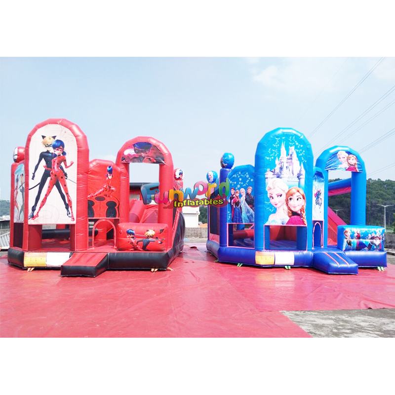Buy with commercial kids bouncer castillos hinchables inflatable bouncy water bounce house combo jumping castle slide