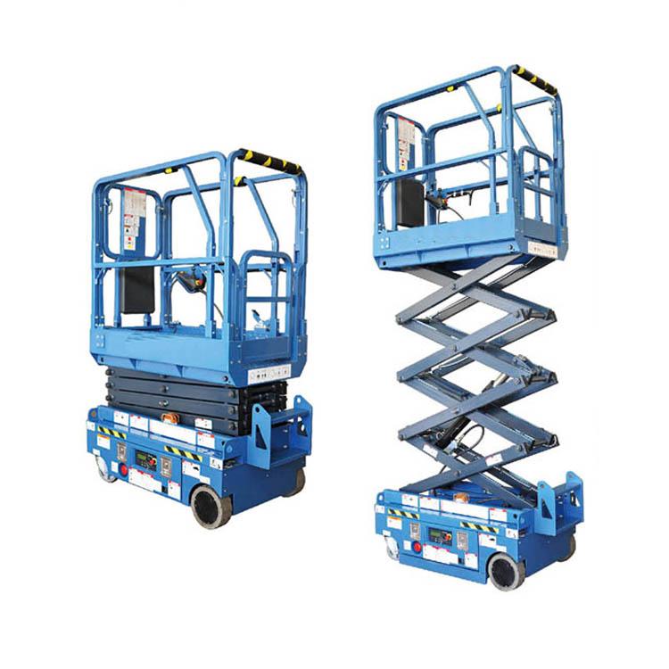 Подъемные рабочие подъемники серии MM-H, низкоуровневый электрический ножничный подъемник, производитель телескопической воздушной платформы