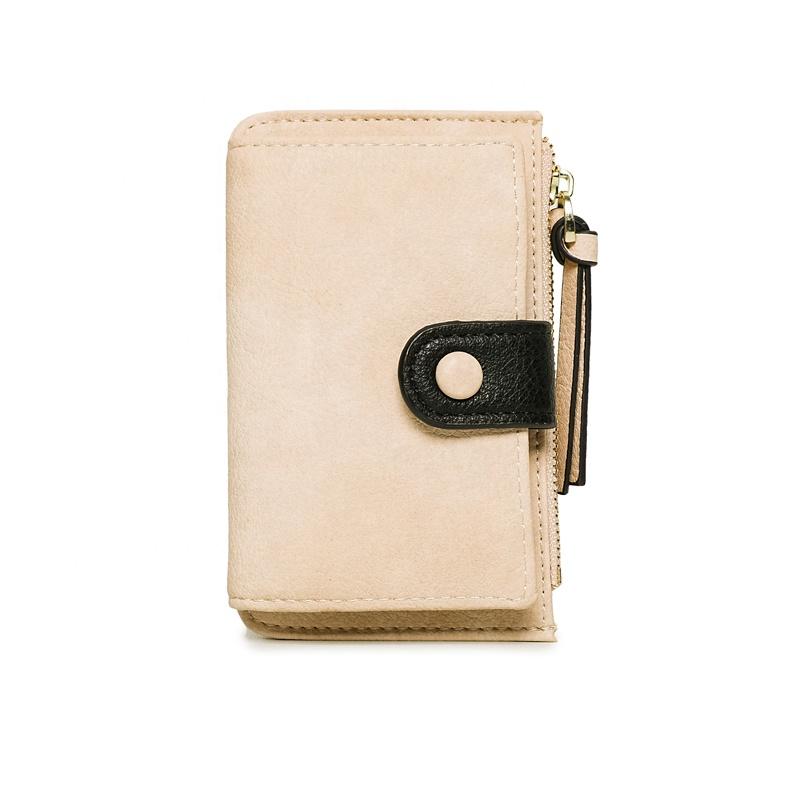 MIYIN Fashionable cute ladies wallet key wallet modern leather key holder wallet New simple high quality wome change handbag