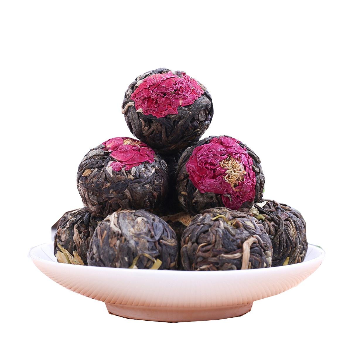 2021 New Private Label Organic Blossom Blooming Flower Tea Ball in Individual Bag for Women Detox Herbal Flowers Tea Ball - 4uTea   4uTea.com