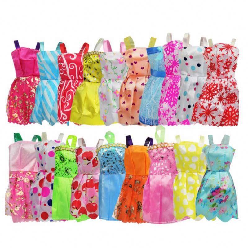 10 шт./компл. модное летнее праздничное платье принцессы ручной работы в смешанном стиле, милое платье