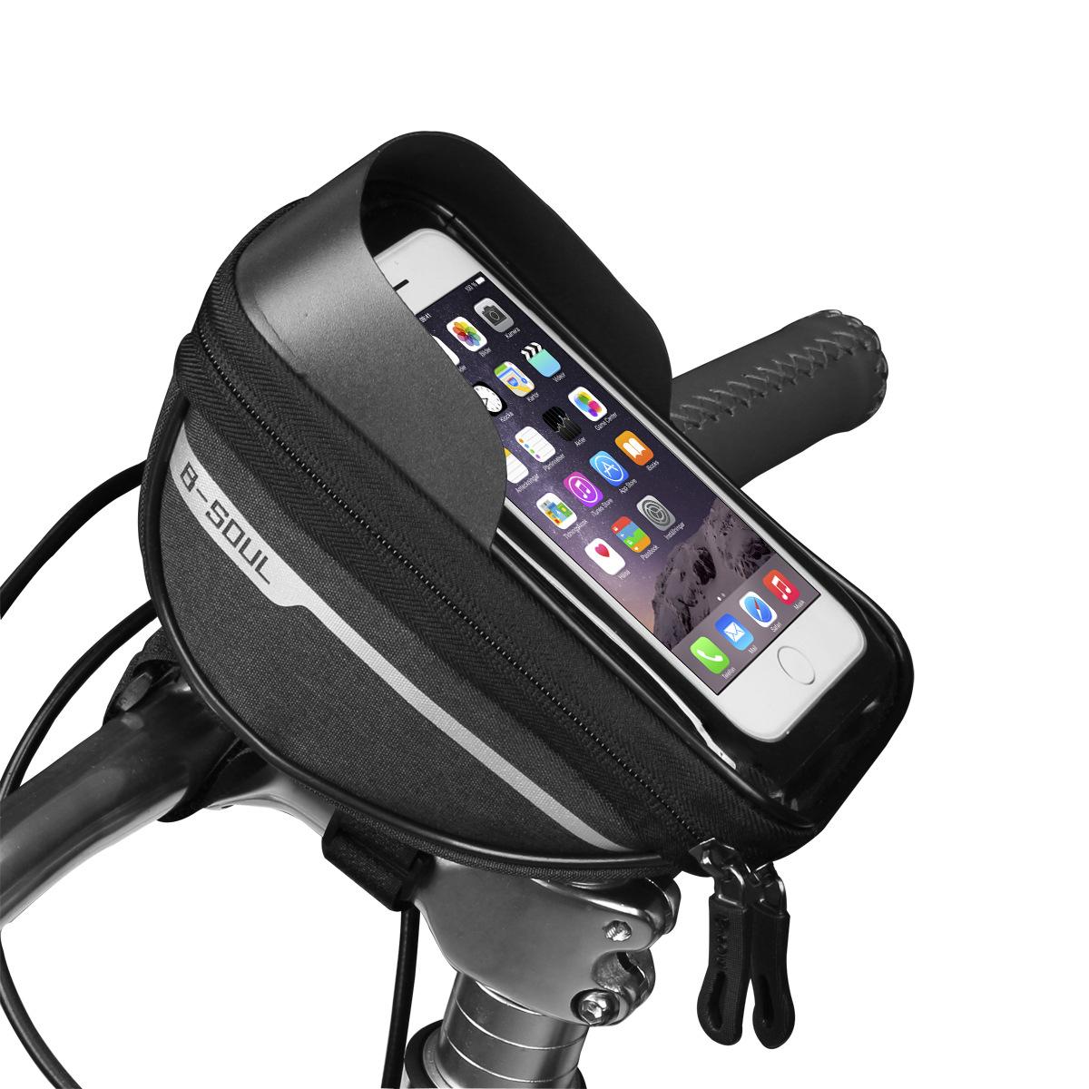 Pannier Bag Phone Holder For Bike Cycle Accessories Bike Side Bag Bike Phone Holder Waterproof Cycling Accessories Bike Accesories