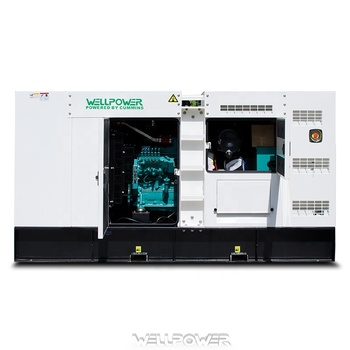 80KW 100kva Generator Silent Type Soundproof With Cummins 6BT5.9-G2 100KVA Generadors Planta Electrica