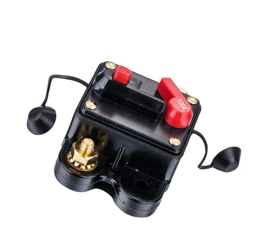 Автоматический выключатель 12 В/24 В/42 В постоянного тока, 50 А/60 А/80 а/100 А/120 А/150 А/200 А/250 А/300 а ампер для автомобиля, аудио для лодки
