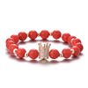 Crown Rose gold - Red
