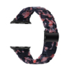 #10สีดำดอกไม้สีชมพู