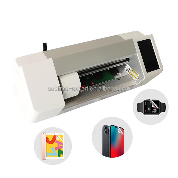 Zero Stock Cutting Machine Universal Phone Hydraulic Soft Film Mobile Front /Back Film Skins Intelligent Screen Protector Cutter