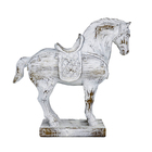 Table Creative Resin Horse Table Decoration White Resin Sculpture Horse Decoration Resin Table Top