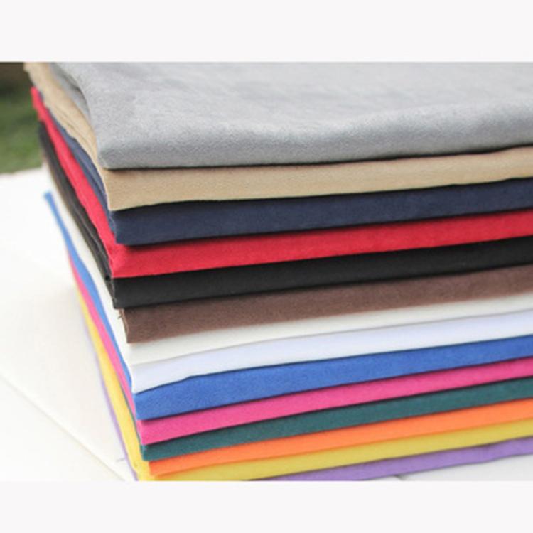 Oeko-tex 100 Экологически чистая одежда персиковая кожа замша ПЭТ переработанная ткань для бутылок