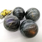 Purple Labradorite Labradorite New Product Purple Labradorite Quartz Natural Crystal Healing Crystal Spheres Balls For Wedding Souvenir Guests