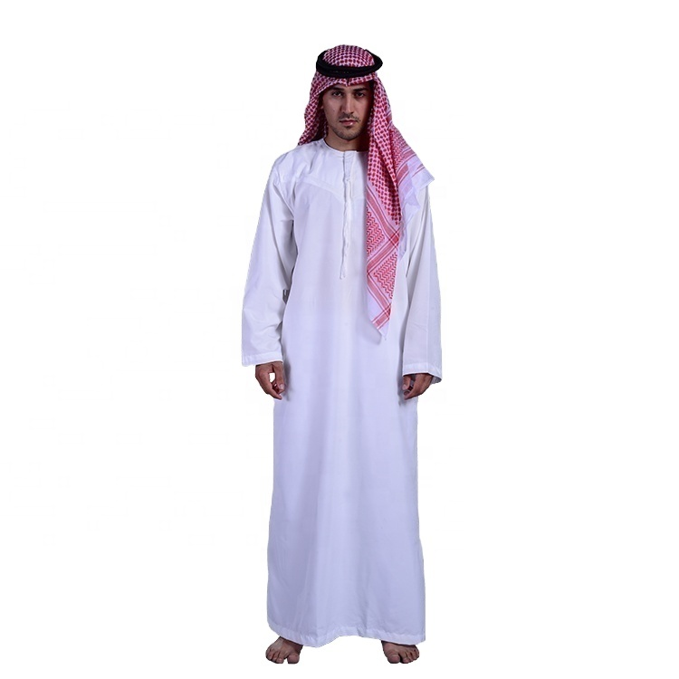 2020 Muslim Men Thobe Hot Sales New Style Robe Arabic Thobe/thobe designs