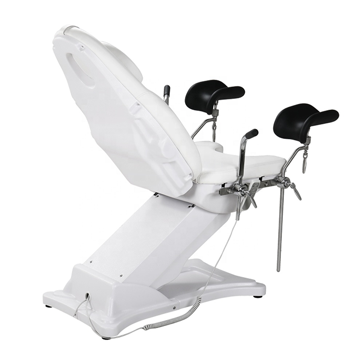 D362 stainless steel Electric Obstetric Examination table portable gynecology delivery chair with legrest