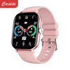Pink Smart watch calling function