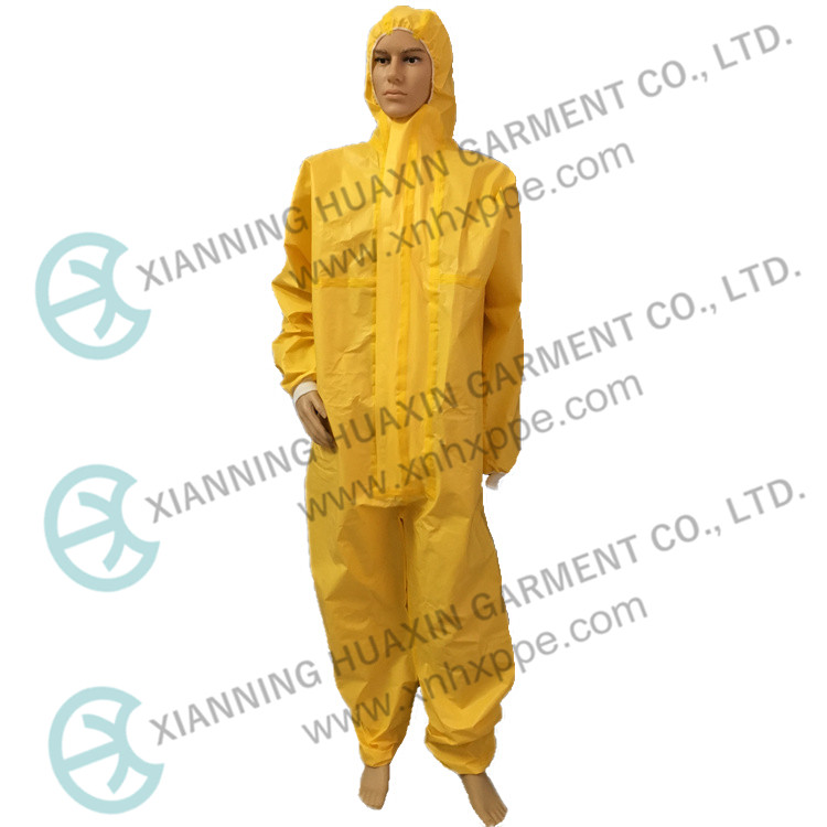TYPE3 Disposable Chemical Microporous Coverall Safety Suit - KingCare | KingCare.net