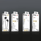 Handsfree Samples Free Sample 3.5mm Jack TPE Earphones Headphone 1.2 M Handsfree Stereo In-ear Wired Earphone/