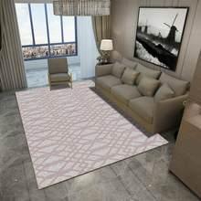 Современные Геометрические ковры для гостиной, спальни, спальни, кровати, большой мягкий ковер для учебы(Китай)