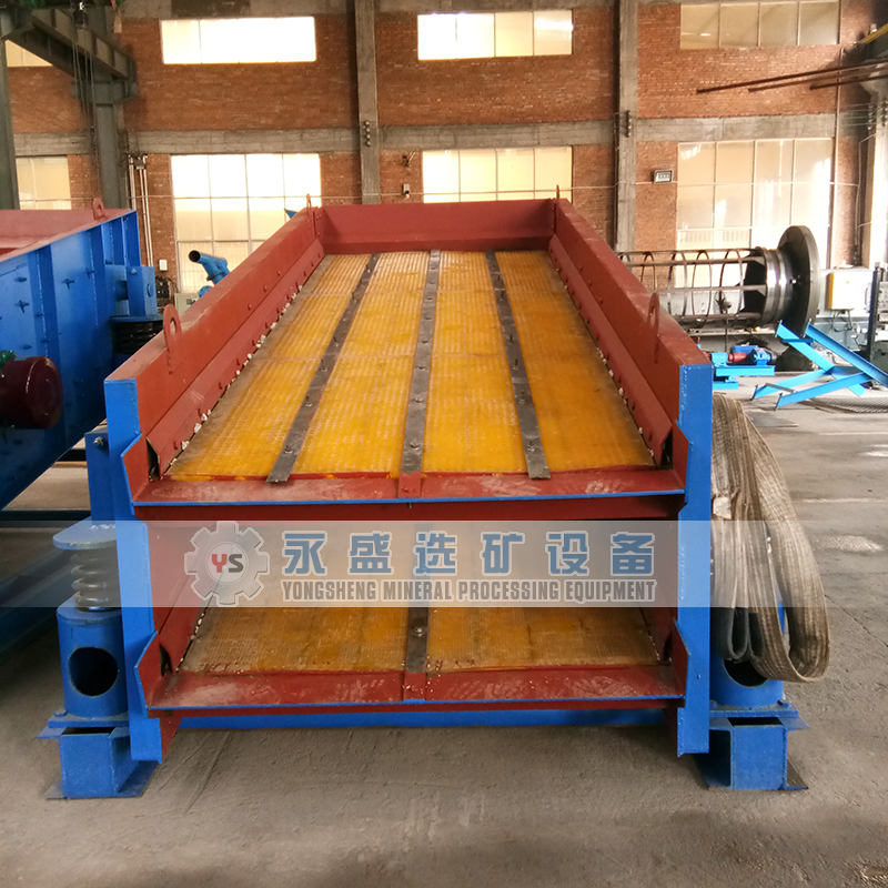 China 1500*3500 mm 200 tons per hour Mining Vibrating Screen for Sand, stone, minerals sieving