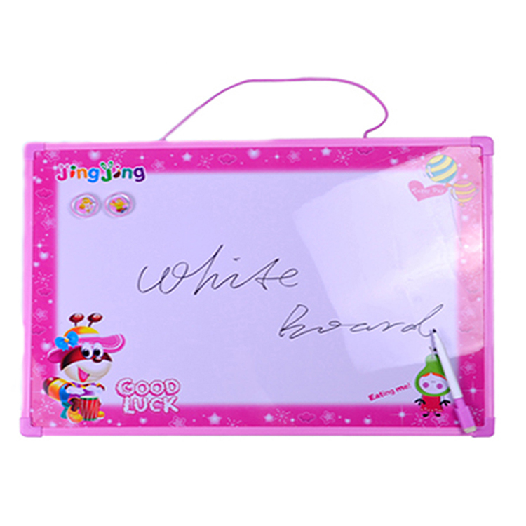 Kids dry erase mini white board double sided magnetic classroom white board small megnet message white board - Yola WhiteBoard | szyola.net
