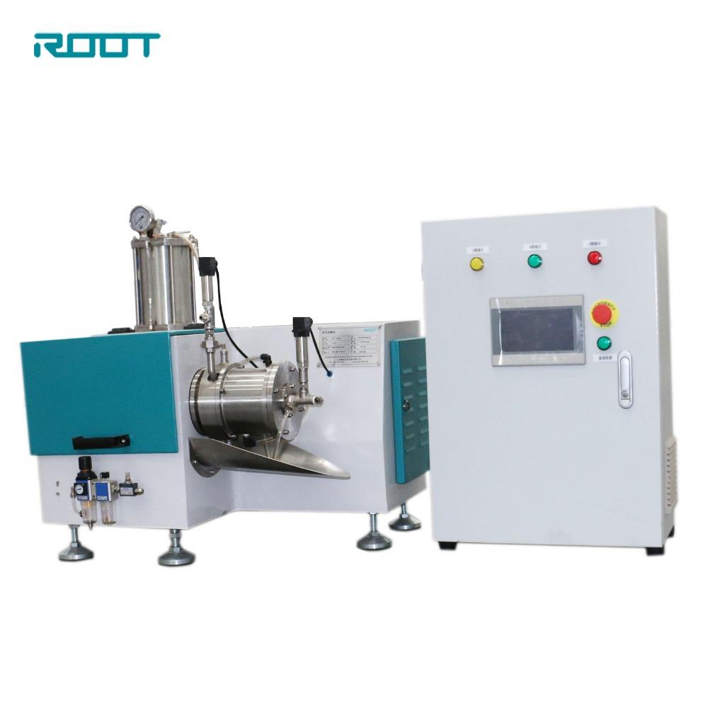 Laboratory nano horizontal bead mill/sand mill for lab use