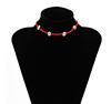 Orange-necklace
