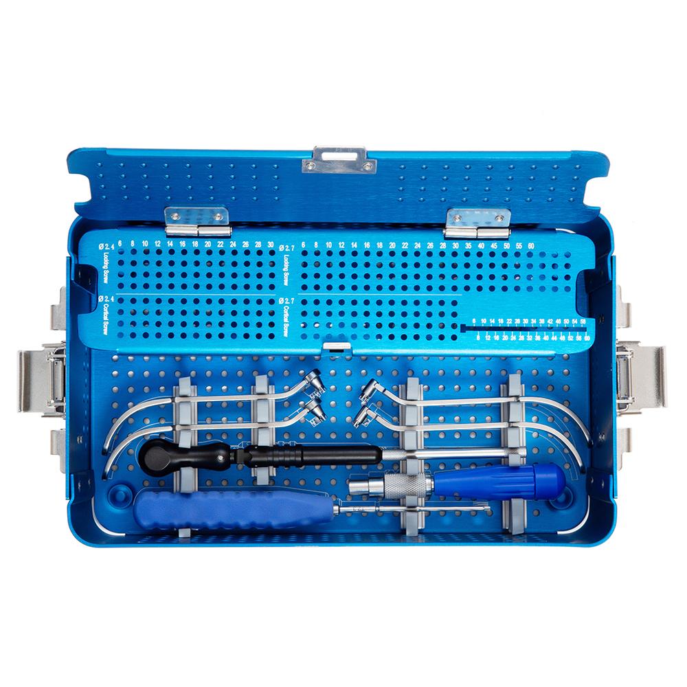 Hot Sale Bone Surgery 2.5/2.7 Multi-axial Locking Plates Instrument Set Orthopedic Surgical Instrument