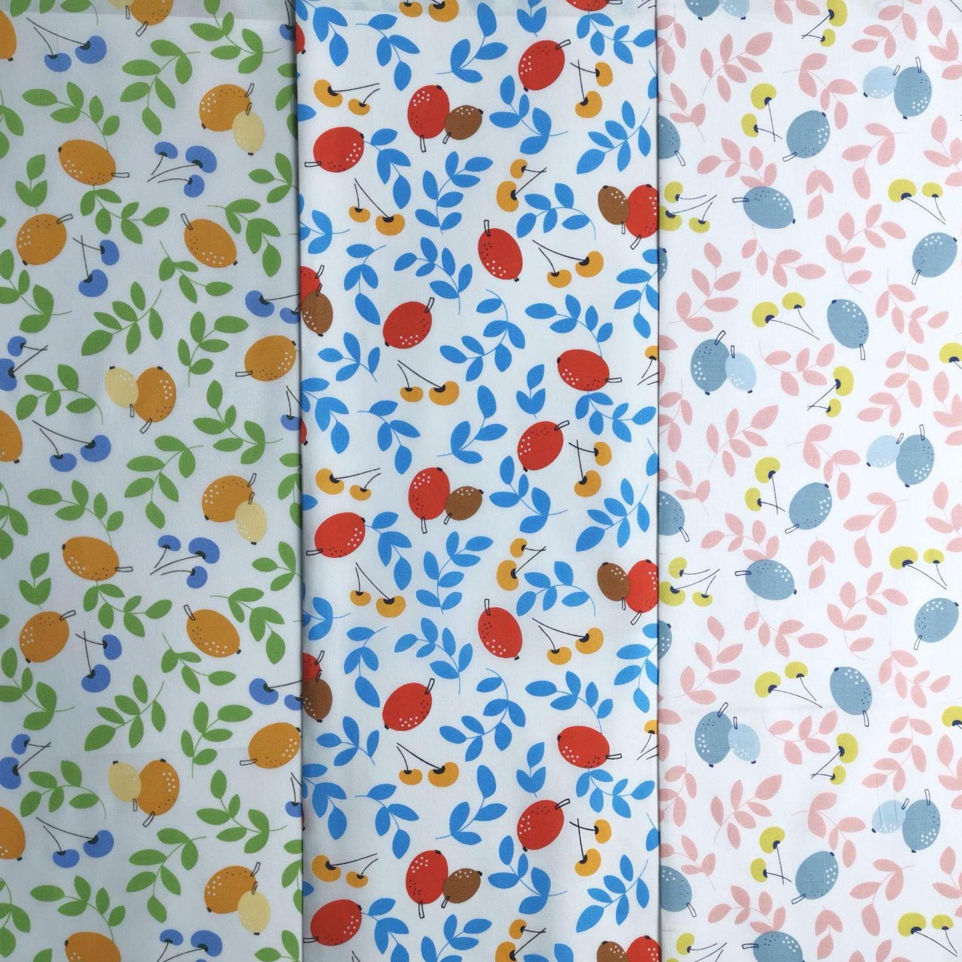 Hot sale flower pattern 60 cotton high density poplin imitation Tencel printed pure cotton printed fabric for dress