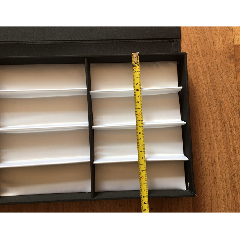 eyeglasses sunglasses display tray holding 12pcs with transparent PVC cover
