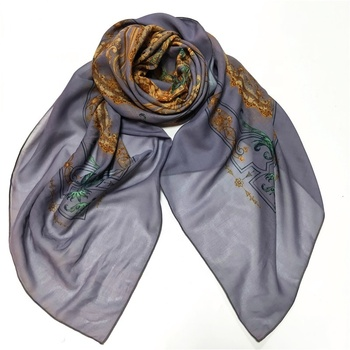 selling cheap 100% polyester digital printed women muslim hijab scarf in stock