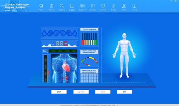 latest version China quantum resonant magnetic analyzer