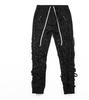 black(black pant with black string)