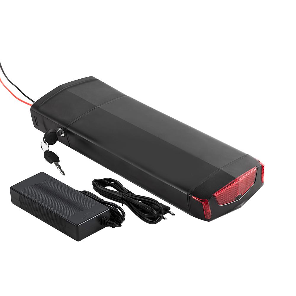 ebike rack battery akku 36v 48v 10ah 21ah Rear Rack ebike battery 36v for electric bicycle