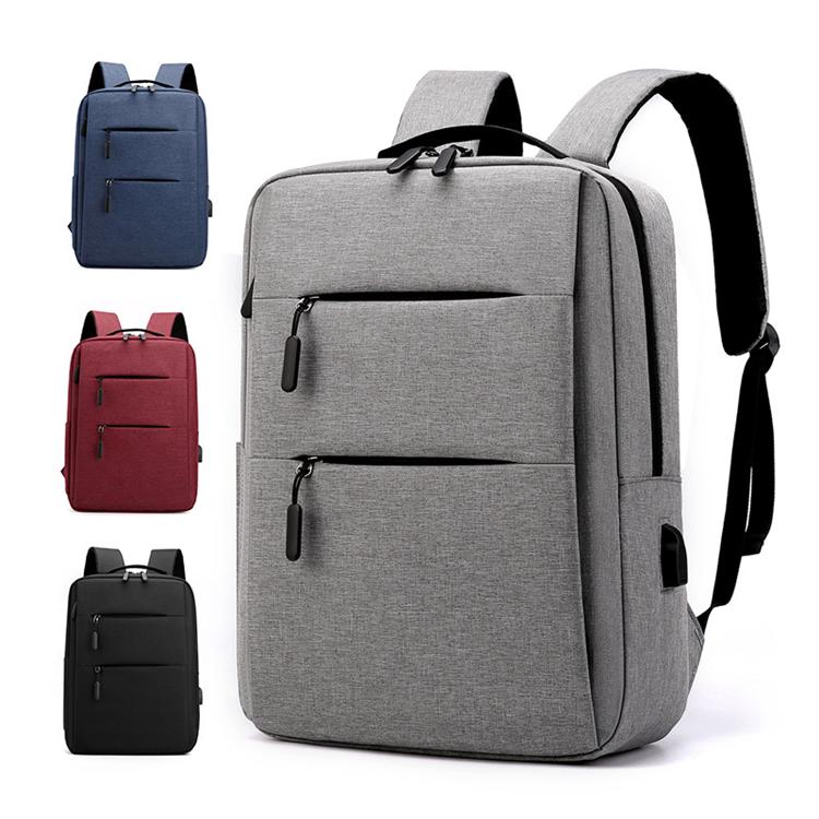 custom waterproof simple adult school bag for university students