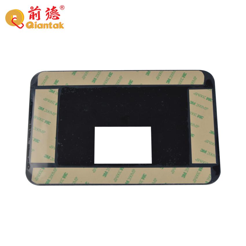 Бесплатный образец, пользовательский акриловый мембранный переключатель, верхний слой передней панели для нагревателя