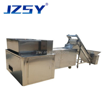 High quality professional full automatic apple/pear/calcium fruit/cherry core seed pitting removing and cutting machine