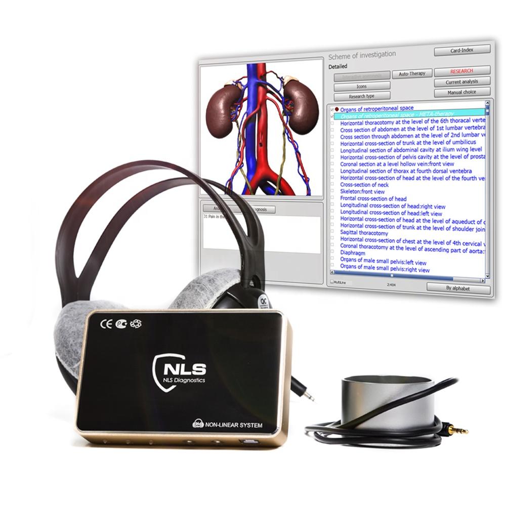 Последняя версия 4021, анализатор здоровья тела 17d nls с автоматической мета-терапией