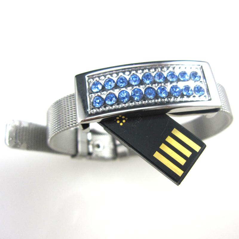Watch Flash Disk Jewelry Pen Drive Jewelry Bracelet USB 4GB - USBSKY | USBSKY.NET