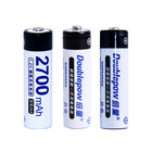 High Capacity NiMH AA 1.2V 2700mah Rechargeable aa Batteries for electronic toys