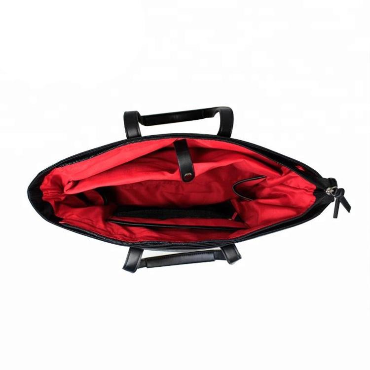 Leather Mummy Diaper Handbag Diaper Tote Bag