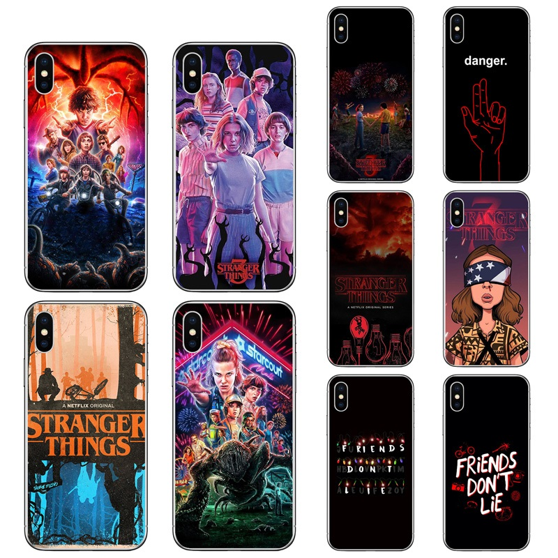 Stranger Things Pattern Silicone Case For Iphone 5/6/7/8 Plus Xs Max Tpu Uv Printing Cover For Iphone 11/12 Pro Max Se 2020 - Buy Printing Case For ...