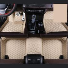 Автомобильный коврик для ног из искусственной кожи для Toyota Sequoia аксессуары для стайлинга автомобилей(Китай)